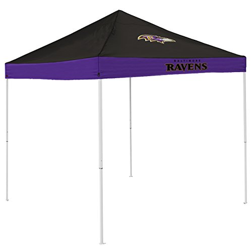 Logo Brands NFL Baltimore Ravens Economy Tent, Purple, One Size