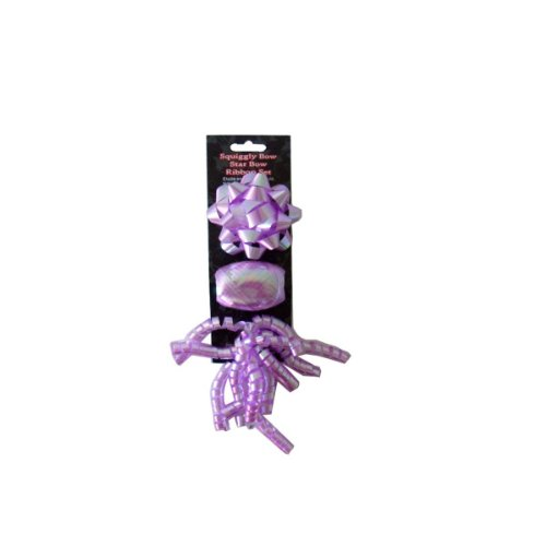 Purple Bow And Ribbon Set - Pack of 96 by bulk buys