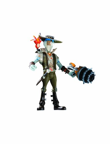 DC Unlimited Ratchet  and  Clank: Series 2: Smuggler Action Figure (Ratchet And Clank Quest For Booty Weapons)