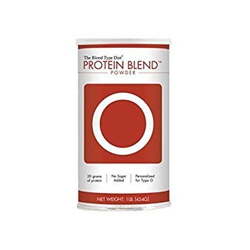D'Adamo Personalized Nutrition Protein Blend Powder Right 4 Your Type O -- 1 lb ()