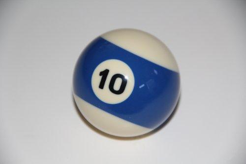 Replacement Ball #10 - EPCO Economy Regulation Billiard or Pool Set, 5.75oz, 2.25