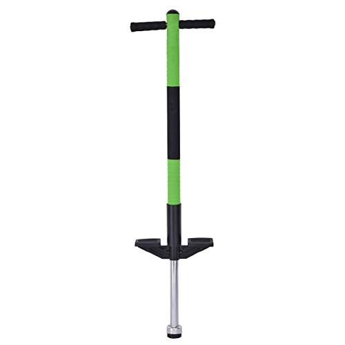 Goplus Pogo Stick Jumping Stick Jumper for Age 5 to 9 Up to 85lbs Perfect Kids Gift for Balance Training (Green) by Goplus