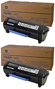 A0X5133 Genuine Konica Minolta Black Toner Cartridge 2 Pack TNP27K 6000 Page-Yield Per Ctg Black