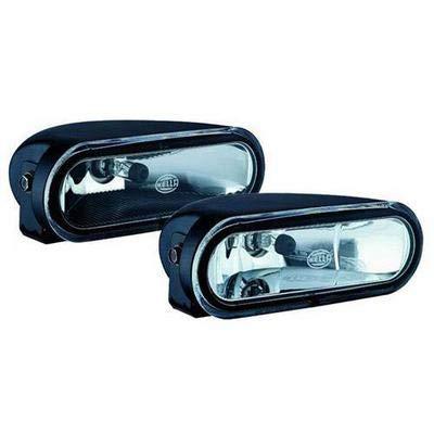 HELLA 008284801 FF75 Series Clear 12V/55W H7 Halogen Fog Lamp Kit -