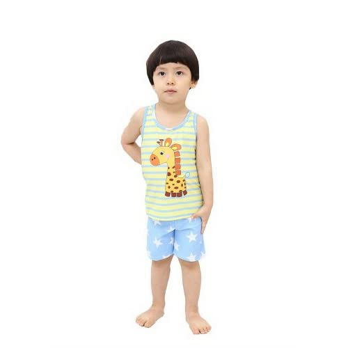 Boys Swimsuit Two Pieces Giraffe Tank & Star Jammer 75-95cm, 2-3 Years Old supplier