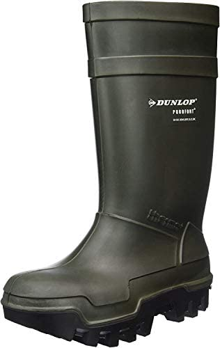 39-48 Dunlop Baustiefel Protomaster S5 Yellow Rubber Boots Safety Boots Sz