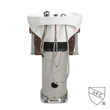Paragon 50a Shampoo Unit White on Brown