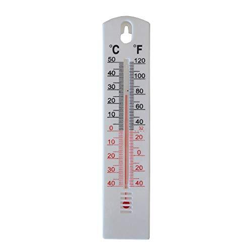 TERMOMETRO DE PAREDE PARA AMBIENTES SAUNA, CASA E ESCRITORIO ESCALA °C / °F