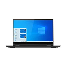 Lenovo IdeaPad Flex 5 14″ Convertible Laptop, FHD (1920 x 1080) Touch Display, Intel Core i5-1035G1 Processor, 8GB DDR4 Onboard RAM, 128GB SSD, Intel UHD Graphics, Win 10, 81X1004RUS, Graphite Grey