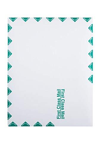 Quality Park 10 x 13 First Class Catalog Envelopes, First Class Border, Redi-Strip Self-Sealing Closure, 28 lb White Wove, 100 per Box ()