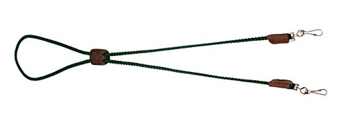 Mendota Pet Dog Whistle Lanyard, Double, Hunter Green, 1/8 x 25-Inch Double Call Lanyard