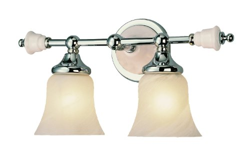 Trans Globe Lighting 7032 PC 2-Light Bath Bar
