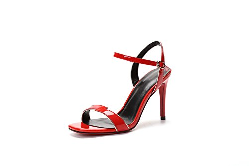 Rosso Asl05320 35 red Ballerine Balamasa Donna vFUAUq