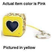 Ycross Rechargeable Bling Mini Speaker - Pink
