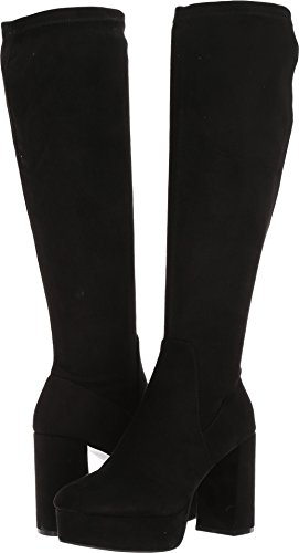 Chinese Laundry Women's Nancy Winter Boot, Black Suede, 8.5 M US