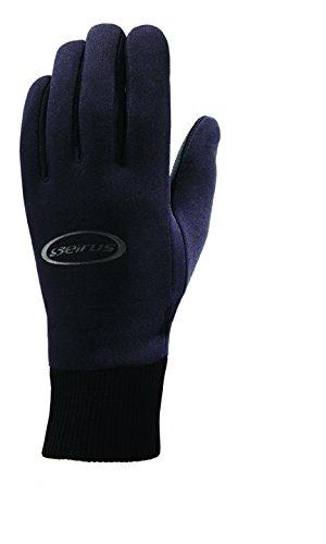 Seirus Innovation Men's Heatware Heatwave All Weather Glove, Small, Black