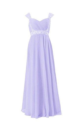 In Chiffon bm14232 Daisyformals Vestito lavanda Da W Cinghie Da Partito Abito 7 Damigella Lungo Rilievo qEHTZ1w