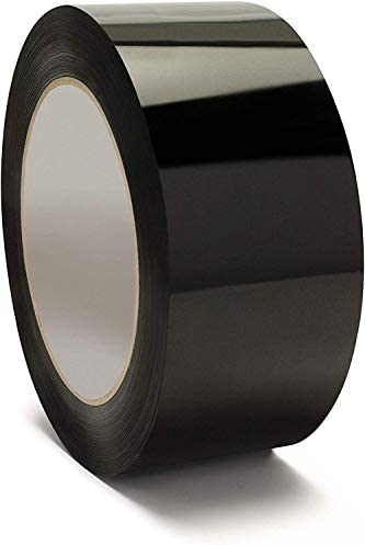 Black Packing TapeMoving Tape2 Inch x 110 Yards 2.0 Mil ThickHeavy Duty Tape (1 ROLL)