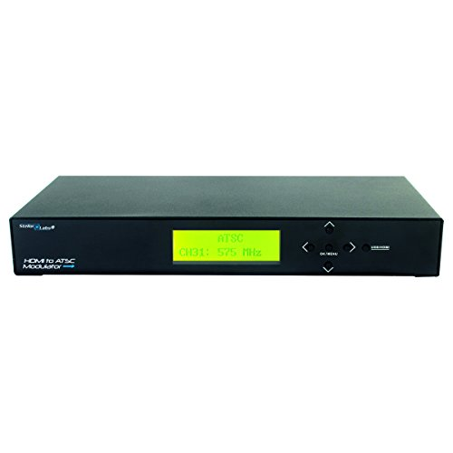 33-11980 - High Definition ATSC RF Modulator - Frequency Agile - HDMI Input (Hdmi To Coax Modulator)