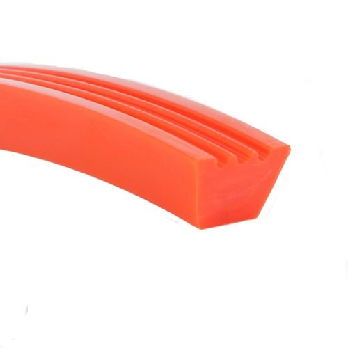 Fenner Drives 1032047 Orange 85 B/17 V Profile Belt, Non-Reinforced, Polyurethane, 13/32'' Overall Height, 100' Length, 11/16'' Top Width by Fenner Drives