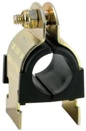 1//4 Pipe Zinc Plated Anti-Vibration Cush-A-Clamp Sold in packages of 25 Pkg Qty 25,