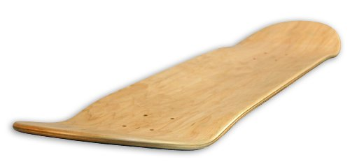 Blank Decks Warning Skateboard Deck (Colors may vary 7.75-Inch)