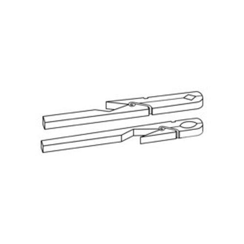 neolab S de 2415/de pinzas de madera para tubos de ensayo 175/mm de largo