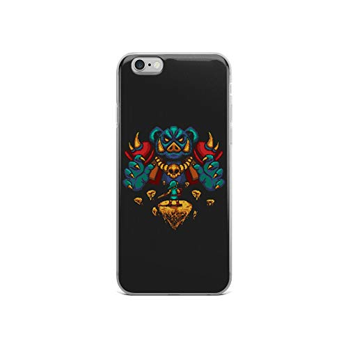 iPhone 6/6s Case Anti-Scratch Gamer Video Game Transparent Cases Cover Final Boss Gaming Computer Crystal Clear (The Legend Of Zelda Spirit Tracks Bosses)