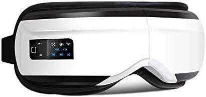 無線振動の目のマッサージャーのBluetoothの暖房の空気圧の目の心配装置疲労は音楽療法ガラス、白を取り除きます