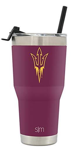 Simple Modern College Tumbler Straw Arizona State