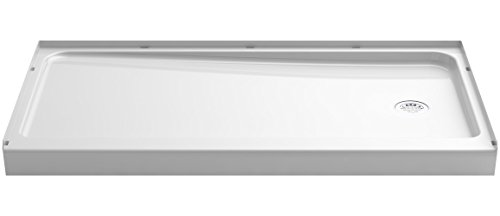 - STERLING 72181120-0 Series 7128 Ensemble Shower Base with Right-Hand Drain, 60 x 32-Inch, White