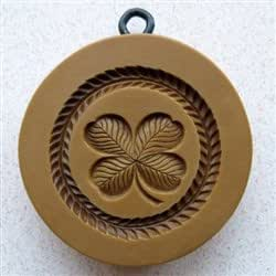 Lucky Clover Springerle Cookie Mold