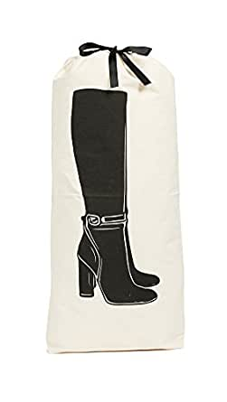 Bag-all Women's Tall Boot Bag, Off White, One Size