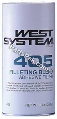 WEST SYSTEM 405 Filleting Blend Adhesive Filler, 8 Oz.