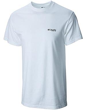 Men's PFG Bass Camo Short-sleeved T-shirt