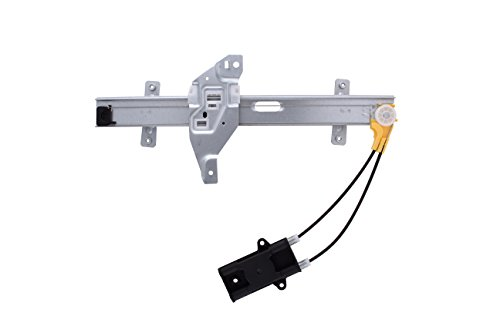 HANSUN 6603-0040 Power Window Regulator Without Motor Rear Right Passenger Side For Buick Oldsmobile - Century Regal Intrigue - (Oldsmobile Intrigue Rear Window Regulator)