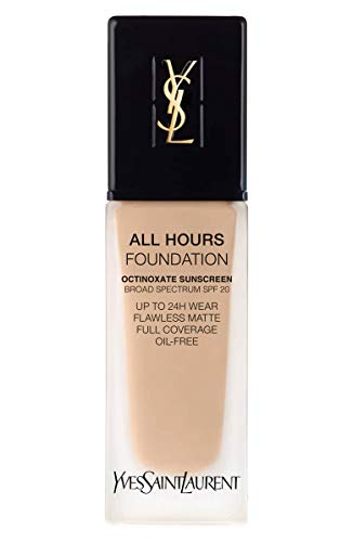 (YVES SAINT LAURENT All Hours Full Coverage Matte Foundation SPF 20 25ml # BD20 Warm Ivory)