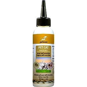 Peticare Perro Bio Champu contra Picor, Anti-Pulgas y Anti-Acaros – Tratamiento para Anti-Parasitos y Repelente, Detiene Picores Fuerte, Shampoo 100% Organico – petDog Protect 2104 (250 ml)