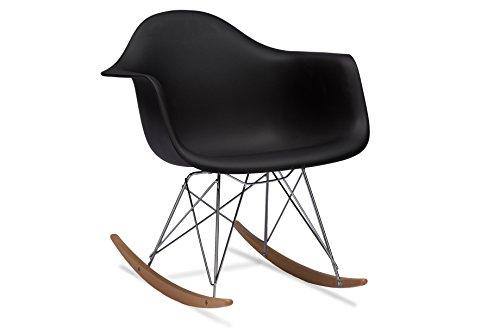 Baxton Studios Dario Plastic Rocking Chair
