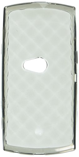 MyBat Diamond Candy Skin Cover for Sony Ericsson U5a (Vivaz) - Retail Packaging - Smoke