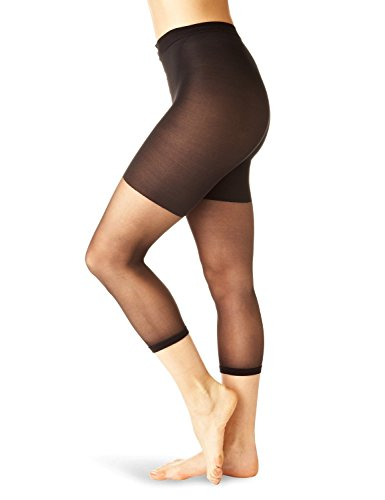 SPANX In-Power Line Footless Pantyhose Hosiery Black Size B (Control Spanx Super)