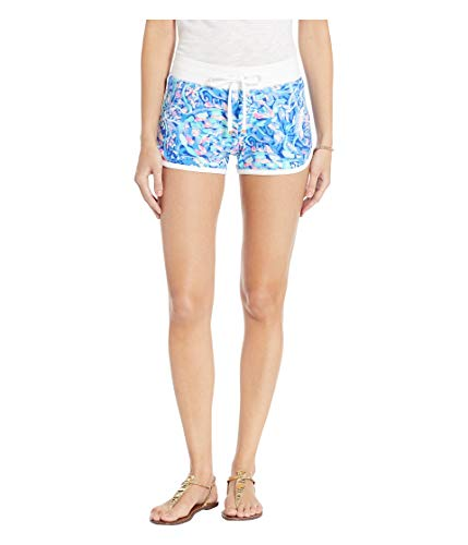 Lilly Pulitzer Women's Chrissy Short, Royal Purple Party Wave, S from Lilly Pulitzer