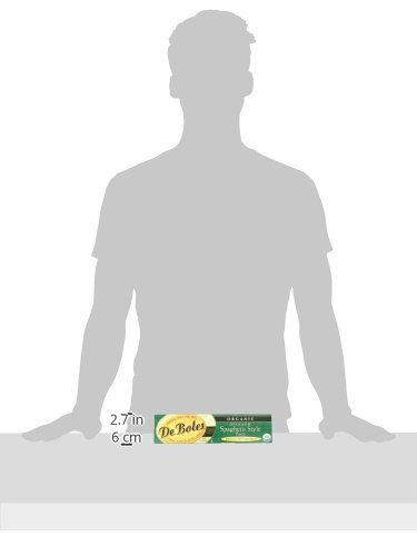 DeBoles Organic Spinach Pasta, Spaghetti, 8 Ounce (Pack of 12) by DeBoles (Image #4)