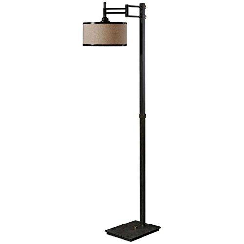 (Uttermost 28587-1 Prescott Metal Floor Lamp)