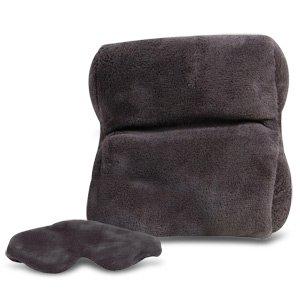 Travelon Travelon Ultra Fleece Travel Pillow & Eye Mask Set (Catalog Category: General Merchandise / Travel )