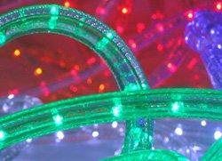 "CBconcept Low Voltage 12V Green 2-Wire 1/2"" LED Rope Light - Boat / Camper / RV Lighting (50 Feet)"
