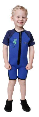 NeoSport Wetsuits - Kid's Wetsuit Premium Neoprene 2mm, Children/Youth Swim Suit - Size 3