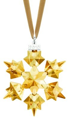 Swarovski Retired SCS Christmas Ornament, Annual Edition 2010 Christmas 1054560