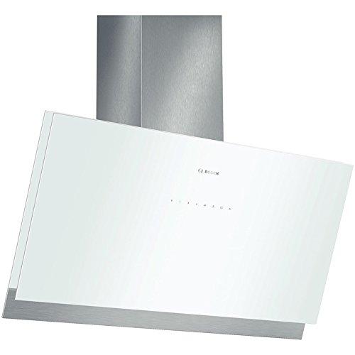 Bosch DWK098G21 Serie 8 Wandhaube / 90 cm / Gehäusematerial Edelstahl / Glas / weiß