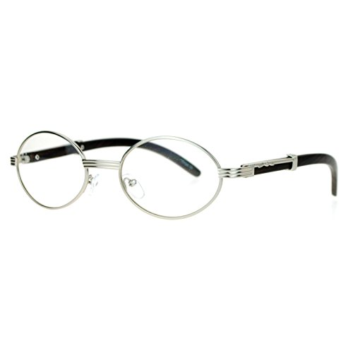 SA106 Art Nouveau Vintage Style Oval Metal Frame Eye Glasses